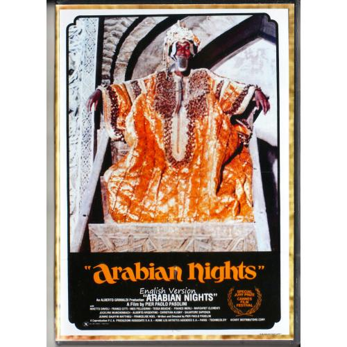 ARABIAN NIGHTS DVD = A FILM BY PIER PAOLO PASOLINI=ENGLISH LANGUAGE VERSION