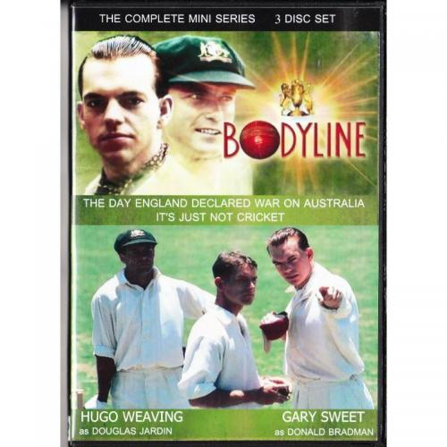 BODYLINE DVD = 3 DISCS MINI SERIES = HUGO WEAVING - GARY SWEET
