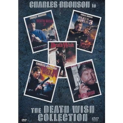 Charles Bronson Death Wish 1, 2, 3, 4, 5, - Dvd