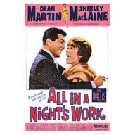 All in a Night's Work (1961) Dean Martin, Shirley MacLaine, Cliff Robertson