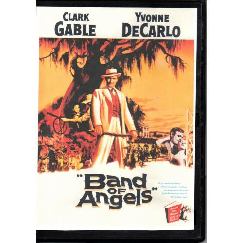 BAND OF ANGELS - CLARK GABLE & YVONNE DE CARLO  ALL REGION DVD