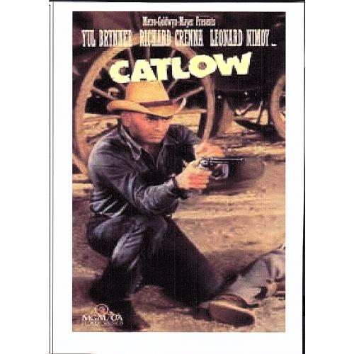 CATLOW - YUL BRYNNER ALL REGION DVD