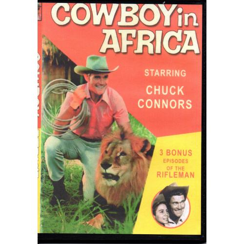COWBOY IN AFRICA - CHUCK CONNERS ALL REGION DVD
