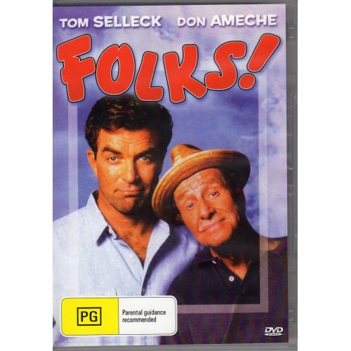FOLKS - TOM SELLECK- ALL REGION DVD