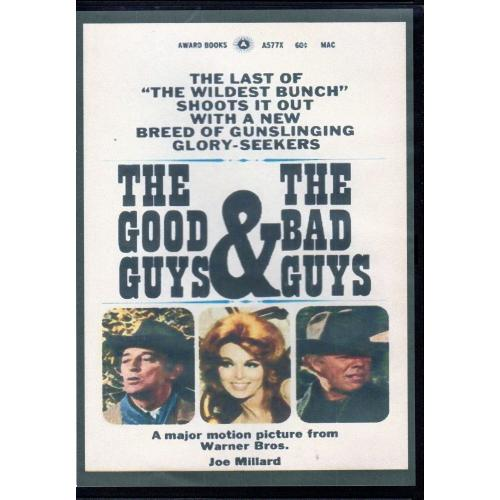 GOOD GUYS AND THE BAD GUYS - ROBERT MITCHUM ALL REGION DVD