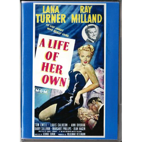 A LIFE OF HER OWN DVD = LANA TURNER - RAY MILLAND