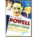 LAWYER MAN DVD = WILLIAM POWELL - JOAN BLONDELL = 1932 AMERICAN PRE CODE DRAMA FILM