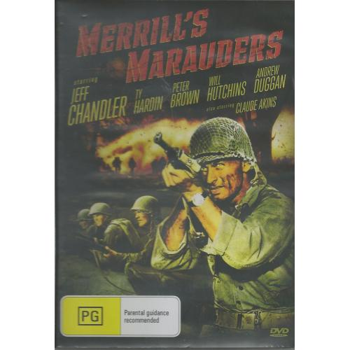 MERRILL MARAUDERS - JEFF CHANDLER ALL REGION DVD