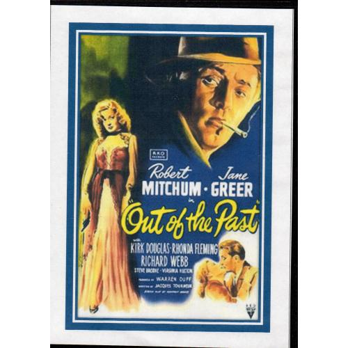 OUT OF THE PAST - ROBERT MITCHUM & JANE GREER  -  ALL REGION DVD