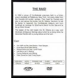 RAID, THE - VAN HEFLIN & LEE MARVIN ALL REGION DVD