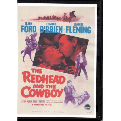 REDHEAD AND THE COWBOY - GLENN FORD - ALL REGION DVD