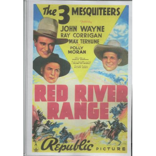 RED RIVER RANGE - JOHN WAYNE - ALL REGION DVD