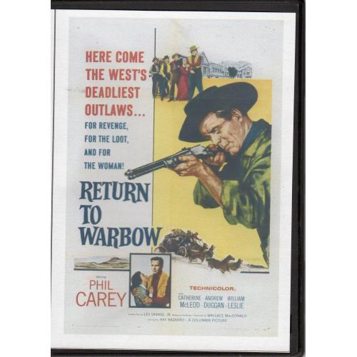RETURN TO WARBOW - PHIL CAREY ALL REGION DVD