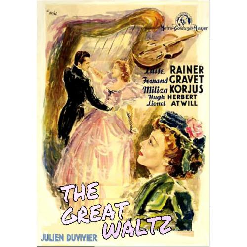 THE GREAT WALTZ DVD = LUISE RAINER MILIZA KORJUS FERNAND GRAVEY