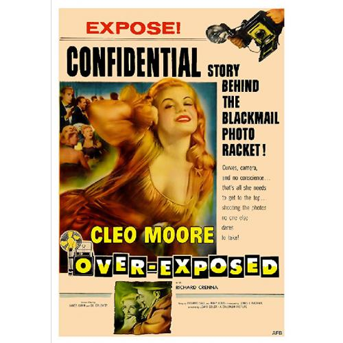 OVER-EXPOSED DVD = CLEO MOORE