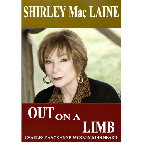 OUT ON A LIMB DVD = SHIRLEY MACLAINE = 2 DVD COMPLETE MINI SERIES