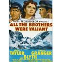 ALL THE BROTHERS WERE VALIANT DVD = ROBERT TAYLOR