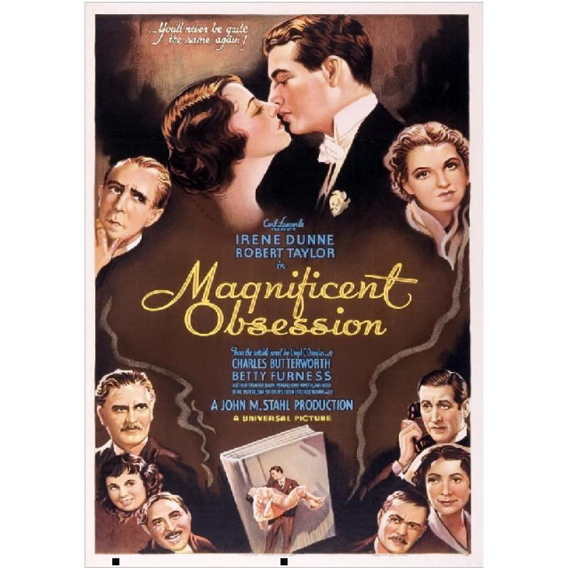 MAGNIFICENT OBSESSION DVD = 1935 ROBERT TAYLOR IRENE DUNNE
