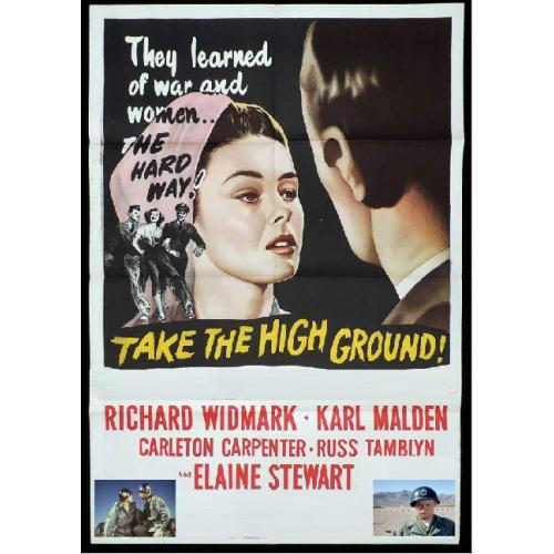 TAKE THE HIGH GROUND DVD = RICHARD WIDMARK