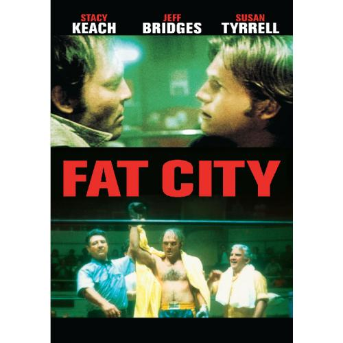 FAT CITY DVD = 1972 = STACY KEACH JEFF BRIDGES SUSAN TYRRELL