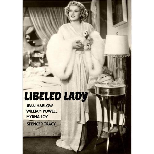 LIBELED LADY DVD = JEAN HARLOW WILLIAM POWELL MYRNA LOY SPENCER TRACY