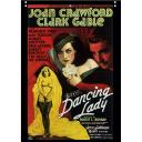 DANCING LADY DVD = JOAN CRAWFORD CLARK GABLE