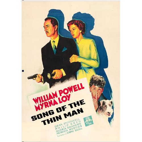 SONG OF THE THIN MAN DVD = WILLIAM POWELL MYRNA LOY
