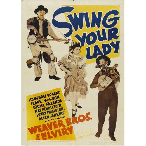 SWING YOUR LADY DVD = COUNTRY MUSICAL = HUMPHREY BOGART