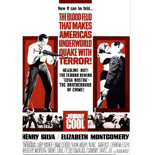 JOHNNY COOL DVD = ELIZABETH MONTGOMERY