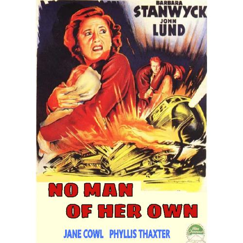 NO MAN OF HER OWN DVD= 1950 = BARBARA STANWYCK