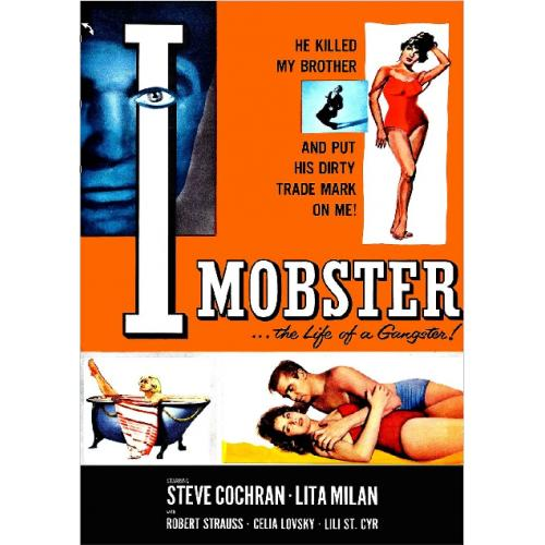 I MOBSTER DVD = STEVE COCHRAN ROBERT STRAUSS