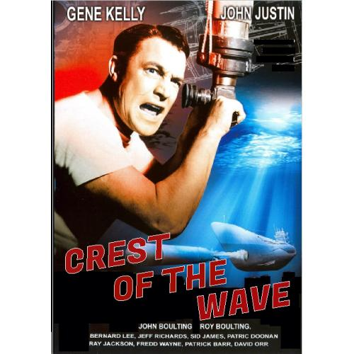 THE CREST OF THE WAVE DVD = (aka SEAGULLS OVER SORRENTO) GENE KELLY