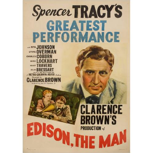 EDISON, THE MAN DVD = SPENCER TRACY