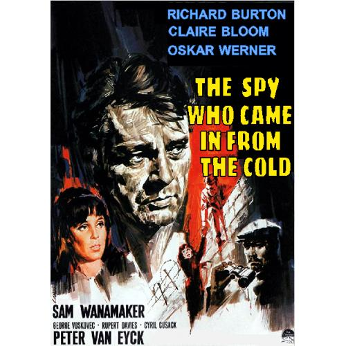 THE SPY WHO CAME IN FROM THE COLD DVD = RICHARD BURTON CLAIRE BLOOM
