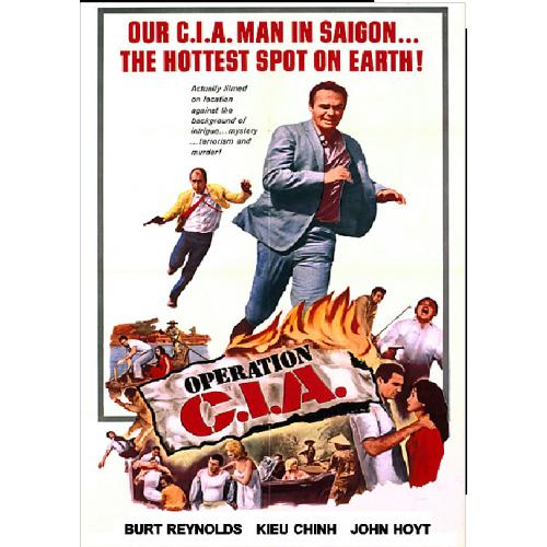 OPERATION C.I.A. DVD = BURT REYNOLDS