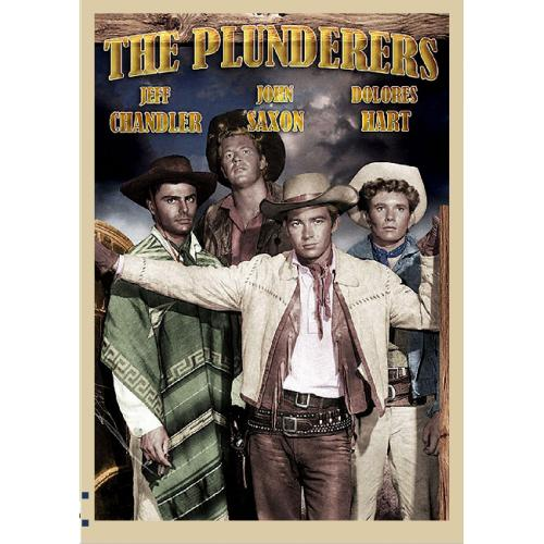 THE PLUNDERERS DVD = JEFF CHANDLER DOLORES HART JOHN SAXON