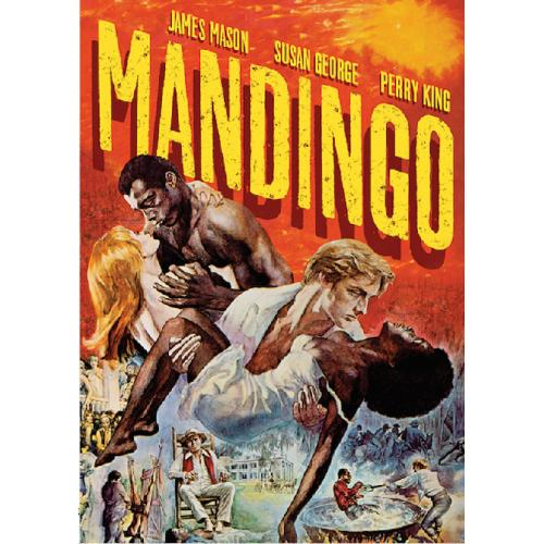 MANDINGO DVD = JAMES MASON SUSAN GEORGE KEN NORTON