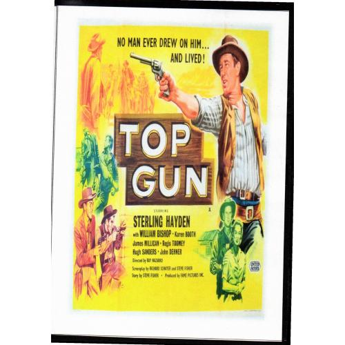 TOP GUN - STERLING HAYDEN ALL REGION DVD