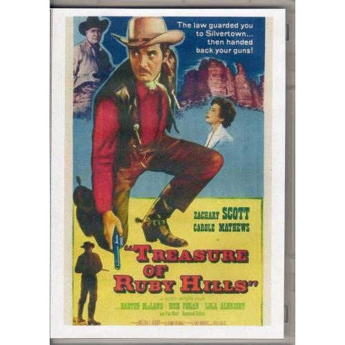 TREASURE OF RUBY HILLS - ZACHARY SCOTT ALL REGION DVD