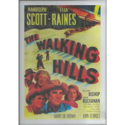 WALKING HILLS - RANDOLPH SCOTT ALL REGION DVD