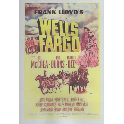 WELLS FARGO - JOEL McCREA ALL REGION DVD