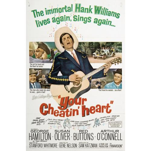 Your Cheatin' Heart (1964)  George Hamilton, Susan Oliver, Red Buttons