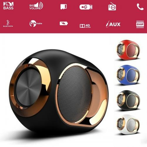 HIFI Portable Wireless Blueteeh 5.0 Speaker Stereo Sound FM TF Card USB TWS Speaker