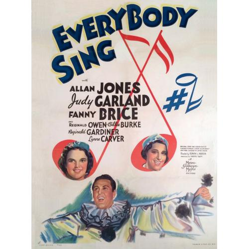 Everybody Sing (1938) Allan Jones, Judy Garland, Fanny Brice