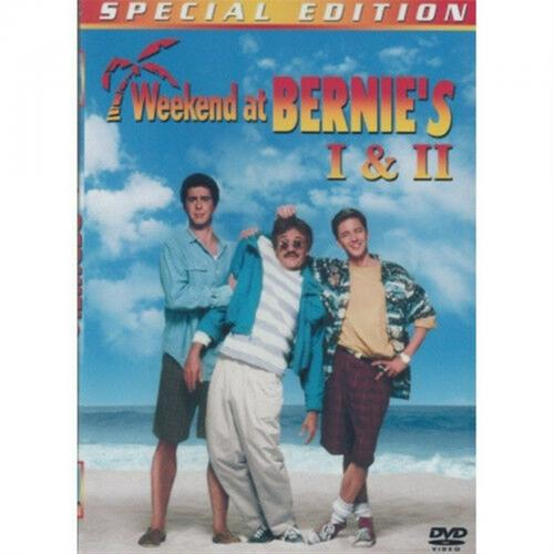 Weekend At Bernies 1 & 2 Comedy Double Dvd