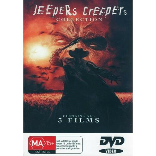 Jeepers Creepers Collection 1,2,3 (Classic Film Dvds)