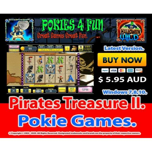 Pirates Treasure II - Registration Key and Download Link Win 7,8,10