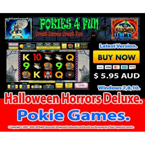 Halloween Horrors Deluxe - Registration Key and Download Link Win 7,8,10