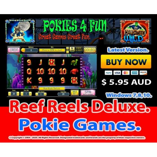 Reef Reels Deluxe - Registration Key and Download Link Win 7,8,10