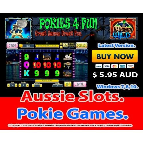 Aussie Slots - Registration Key and Download Link Win 7,8,10